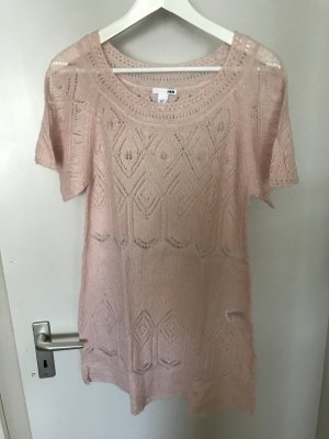 H&M Knitted Top light pink