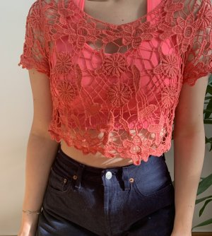 keine Ahnung Cropped Top multicolored