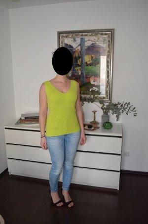 Reken Maar Top lavorato a maglia verde prato Cotone