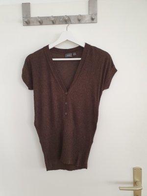Mexx Knitted Vest grey brown