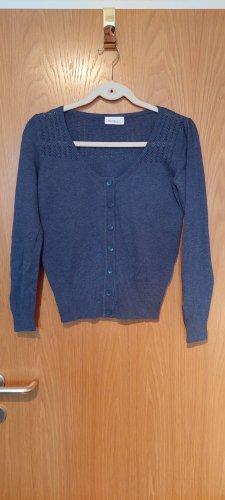 Yessica Knitted Vest slate-gray
