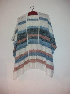 Janina Smanicato lavorato a maglia bianco-blu