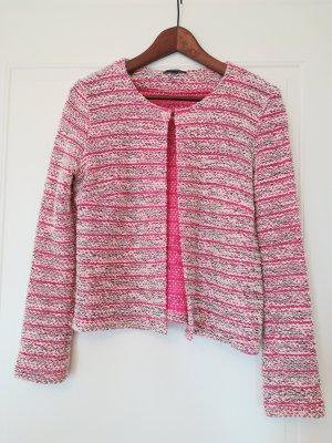 More & More Blazer in maglia rosa