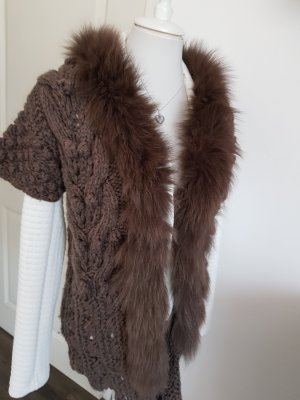 Knitted Vest brown