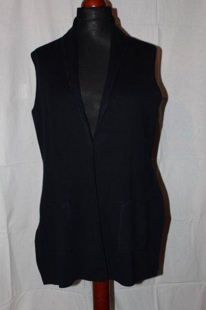 Olsen Knitted Vest dark blue