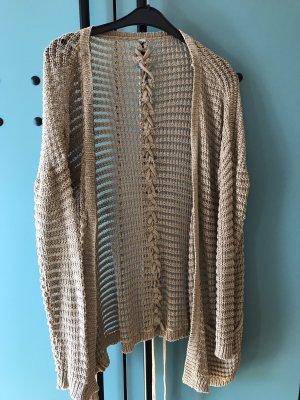 Pull & Bear Knitted Vest beige