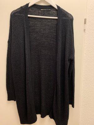 Vero Moda Long Knitted Vest dark blue