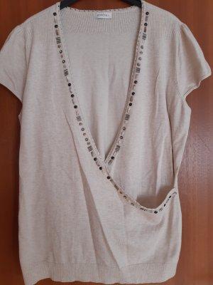 Bonita Smanicato lavorato a maglia beige chiaro