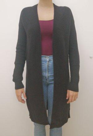 Gap Gilet long tricoté noir