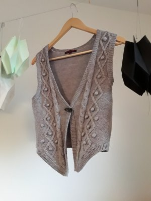 Review Knitted Vest multicolored