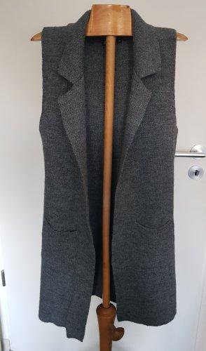 Yida Gilet long tricoté multicolore