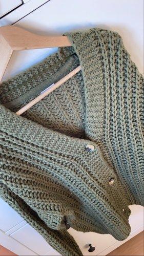 Noisy May Knitted Vest khaki
