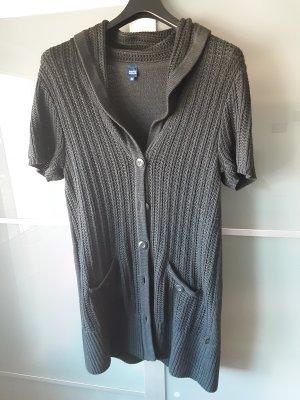 Cecil Gilet long tricoté gris foncé