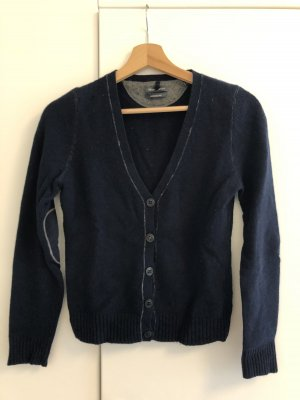 Marc O'Polo Knitted Vest dark blue-blue