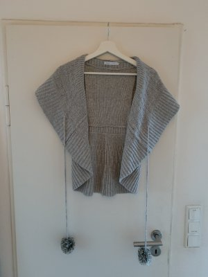 Only Short Sleeve Knitted Jacket light grey-grey