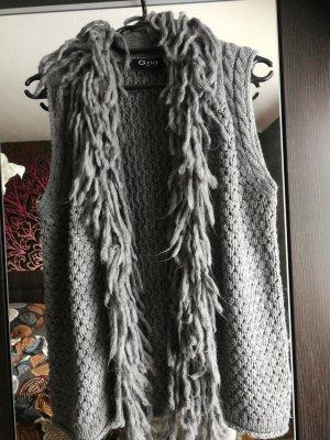 Ernestings Family , Gina Gilet tricoté gris