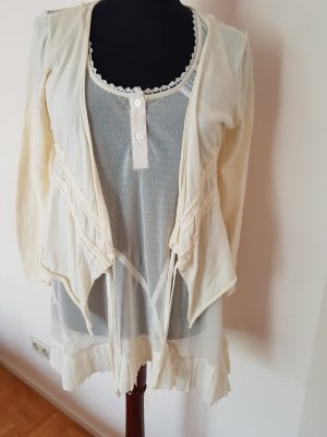 Guess Knitted Cardigan cream