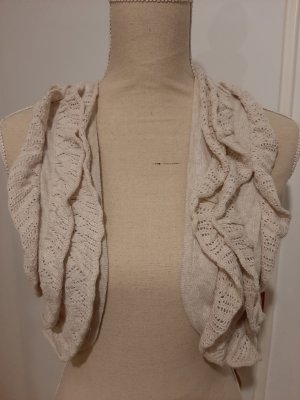 10 FEET Knitted Vest natural white