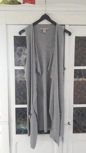 Anna Field Chaleco de punto gris claro-gris