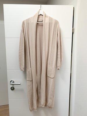 Stefanel Knitted Coat natural white