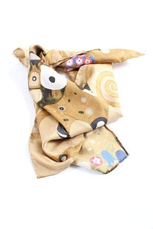 Striessnig wien Pañuelo de seda estampado con diseño abstracto look casual