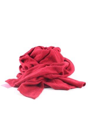 Striessnig wien Strickschal rot Casual-Look