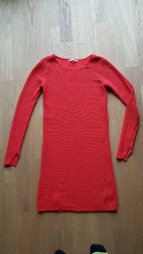 Kookai Vestido tipo jersey rojo
