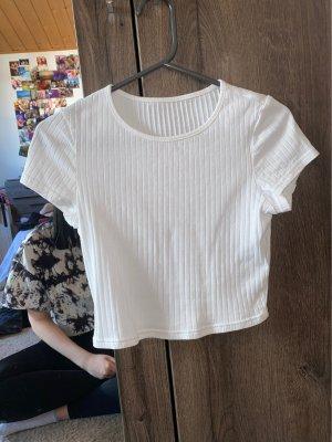 SheIn Koszula o skróconym kroju biały