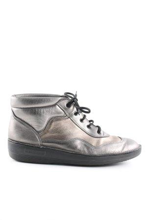 ströber High Top Sneaker silberfarben extravaganter Stil