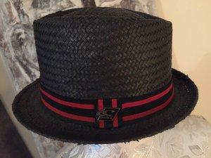 ONEILL Chapeau de paille noir-rouge