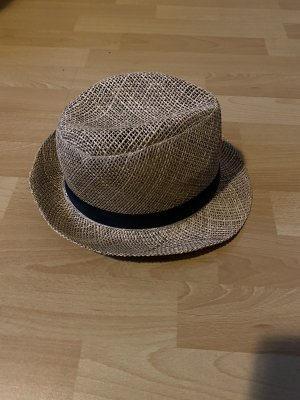 Straw Hat beige-black