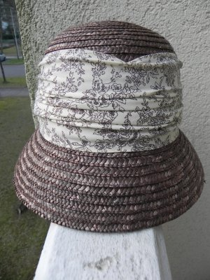 C&A Straw Hat brown-dark brown