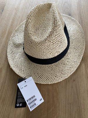 H&M Sombrero de paja beige