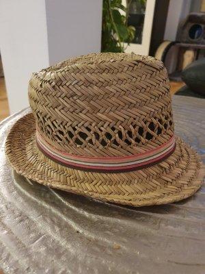 Cappello di paglia crema-beige