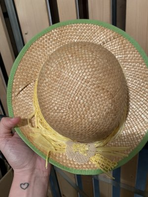Straw Hat yellow-beige