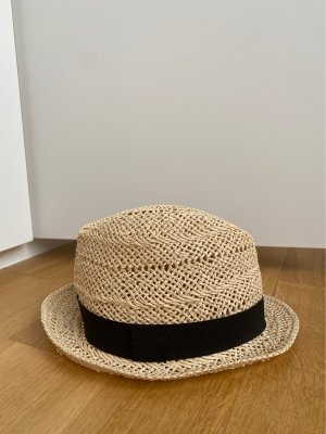 H&M Straw Hat beige-black