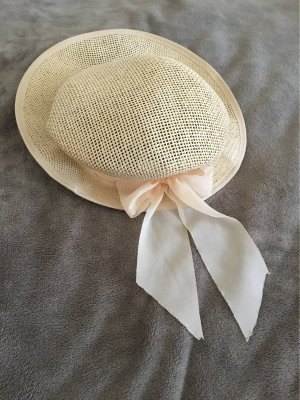 Straw Hat nude-cream
