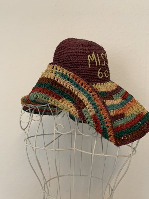 Miss Sixty Straw Hat multicolored