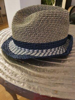 Pepe Jeans Cappello di paglia beige chiaro-blu
