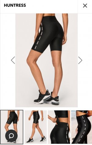 Stronger Pantaloncino sport nero