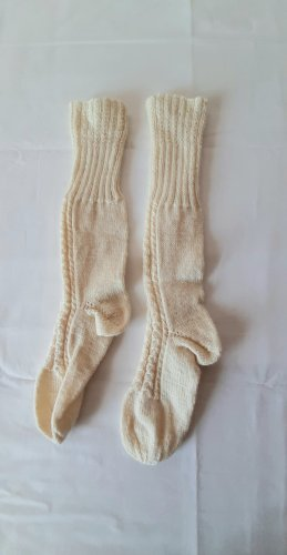 keine Knitted Gloves oatmeal mixture fibre