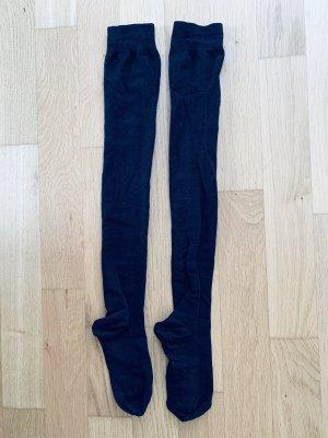 Strümpfe Overknee schwarz one size (Schuhgröße 38-40)