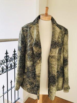 Strukturierter Blazer mit floralem Muster