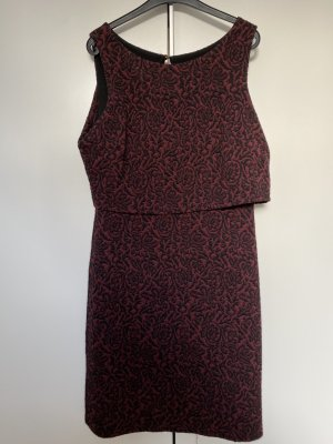 Oasis Sukienka koktajlowa czarny-bordo