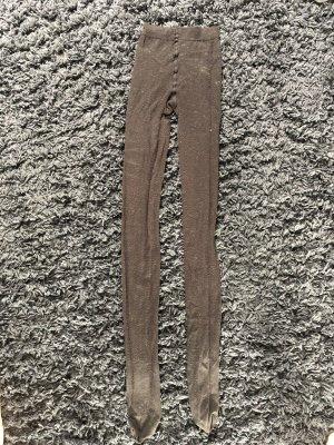 Pantalón de lana negro