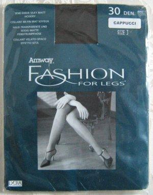 Strumpfhose AMWAY Fashion For Legs 30 DEN Size 3 Cappucci NEU OVP