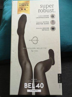 Legging noir polyamide