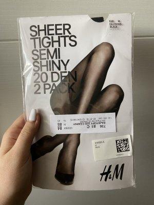 H&M Bas noir