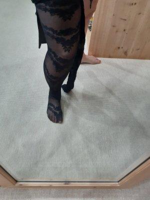 Stretch Boots black mixture fibre