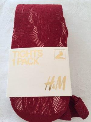 H&M Pantalone pigiama rosso